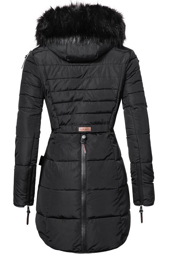 Jacke Moonshine Outdoor Mantel Details about Parka Kunstpelz Winter Stepp Kapuze Damen Marikoo PXZkTuOi