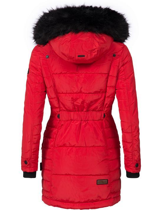 navahoo eliya warmer damen winter stepp mantel jacke parka kunstpelz kapuze ebay. Black Bedroom Furniture Sets. Home Design Ideas