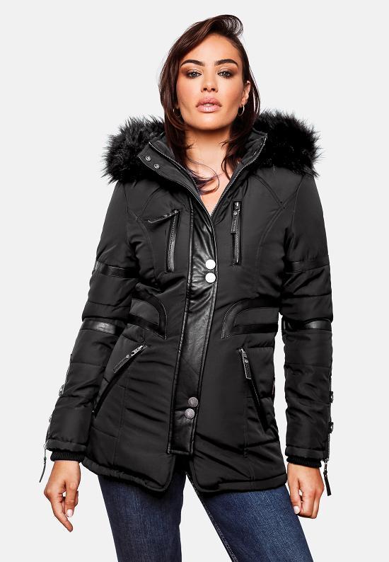 a89d18954cdda8 Navahoo Moon Damen Designer Winter Jacke warmer Mantel lang Parka ...