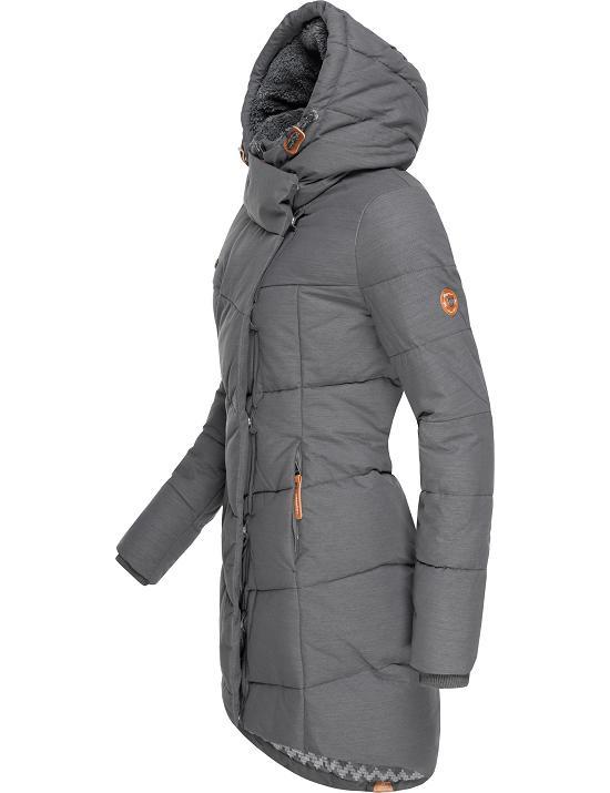 Damen Teddyfell Winter Ragwear Details Pavla Warm Jacke Mantel Parka Kapuze Herbst Zu Kurz WrCxBeod