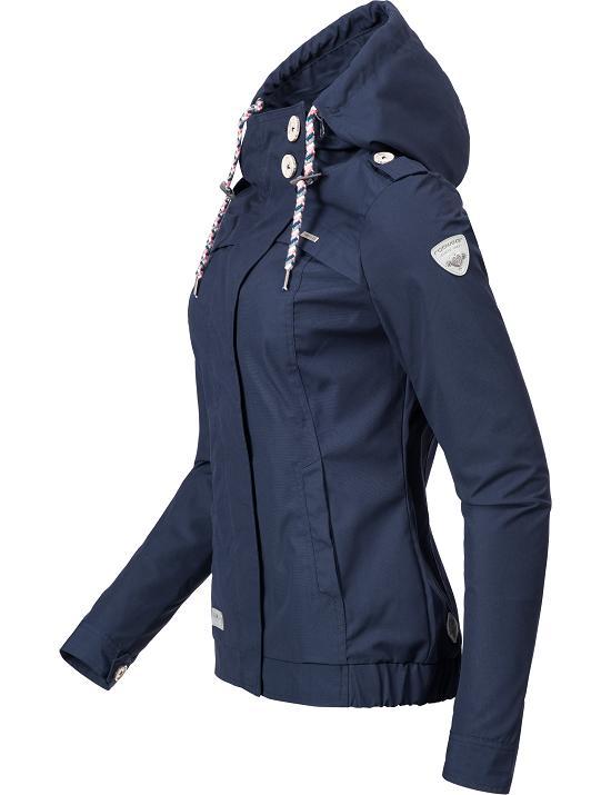 ragwear leichte damen bergangs outdoor jacke parka mantel. Black Bedroom Furniture Sets. Home Design Ideas