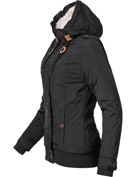 sublevel damen herbst winter jacke mantel parka stepp. Black Bedroom Furniture Sets. Home Design Ideas