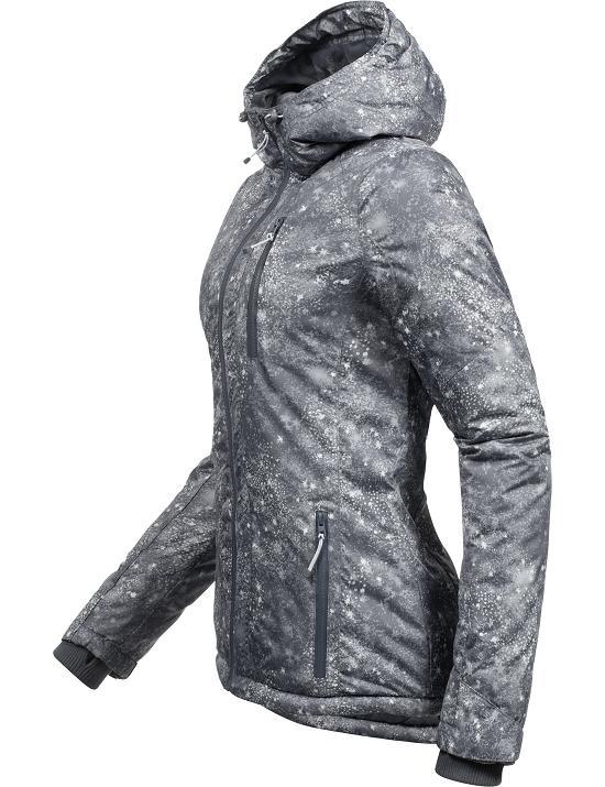 damen winterjacke softshell jacke mantel parka teddyfleece